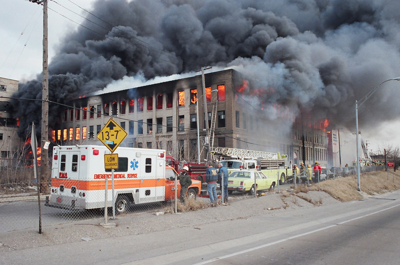 Detroit Fire Department History - March 12 - LODD Warehouse Fire ...