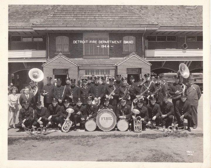 detroit fire department band 1944
