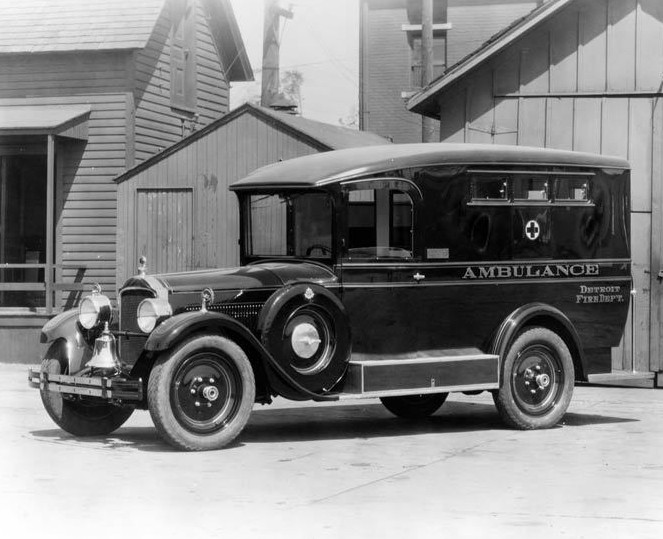 1927 dfd ambulance