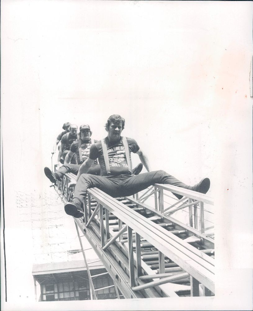 Detroit Firemen's Field Day 1979