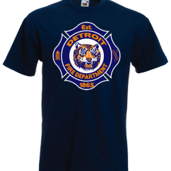 Detroit Fire Department t-shirt