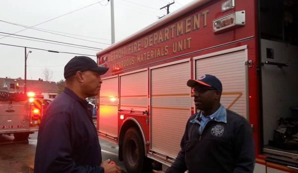 Detroit Fire Department Haz Mat Unit