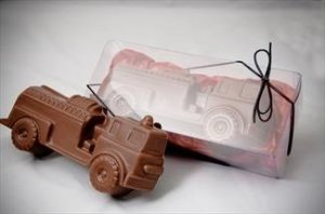 chocolate fire truck