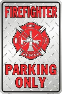 firefighter parking