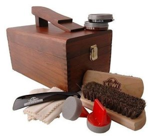 shoe shine valet box