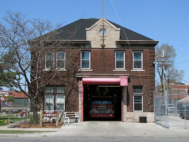 Detroit Fire Station Ladder 22