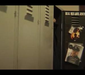 Detroit Firefigher Walter Harris's locker